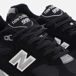 Мужские кроссовки New Balance M991EKS Black/Silver фото- 5