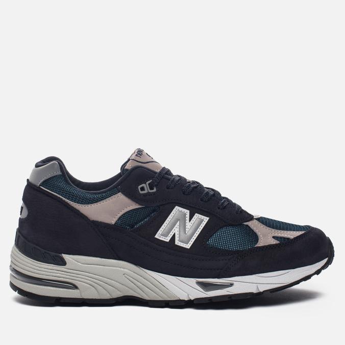 Мужские кроссовки New Balance M991FA Navy/Turquoise