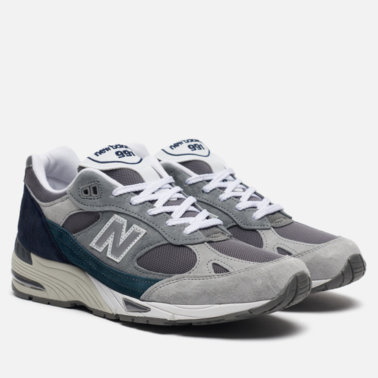 Мужские кроссовки New Balance M991GBT Nu Block Grey/Blue/Teal