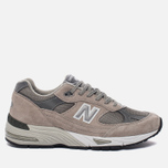 Мужские кроссовки New Balance M991GL Grey/Silver фото- 0