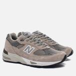 Мужские кроссовки New Balance M991GL Grey/Silver фото- 2