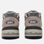Мужские кроссовки New Balance M991GL Grey/Silver фото- 3