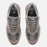Мужские кроссовки New Balance M991GL Grey/Silver фото- 4