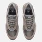 Мужские кроссовки New Balance M991GL Grey/Silver фото - 1