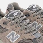 Мужские кроссовки New Balance M991GL Grey/Silver фото- 5