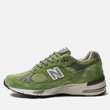 Мужские кроссовки New Balance M991GRN Bright Green фото- 1