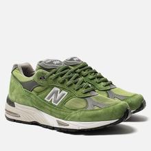 Мужские кроссовки New Balance M991GRN Bright Green фото- 2