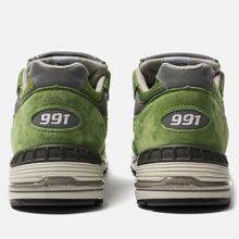 Мужские кроссовки New Balance M991GRN Bright Green фото- 3