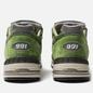 Мужские кроссовки New Balance M991GRN Bright Green фото - 3