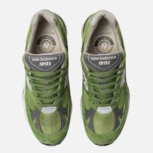 Мужские кроссовки New Balance M991GRN Bright Green фото- 5