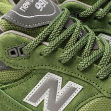Мужские кроссовки New Balance M991GRN Bright Green фото- 6