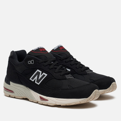 Мужские кроссовки New Balance M991NKR Black/Red/White