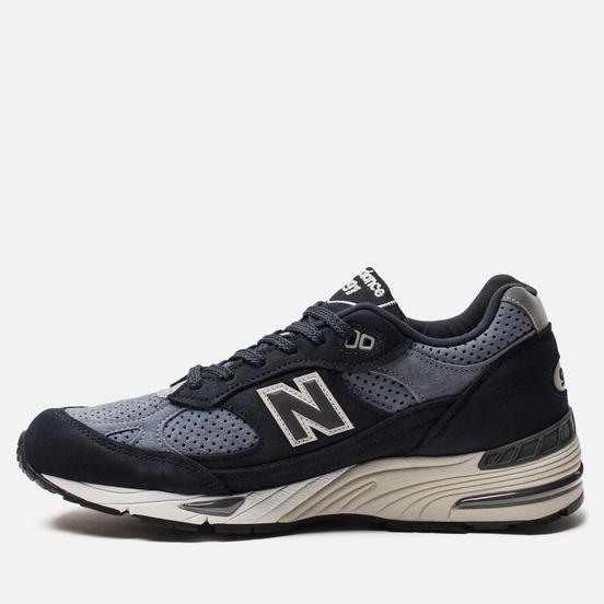 Мужские кроссовки New Balance M991NVB Navy/Blue