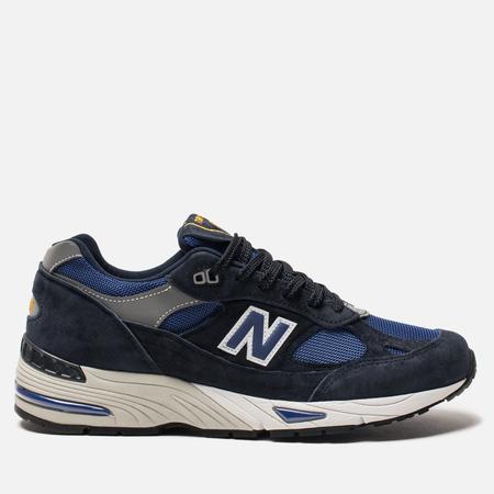 Мужские кроссовки New Balance M991SLE Black/Blue