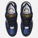 Мужские кроссовки New Balance M991SLE Black/Blue фото- 5