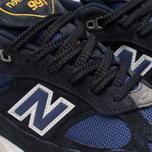Мужские кроссовки New Balance M991SLE Black/Blue фото- 6