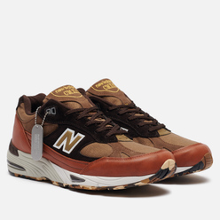 Мужские кроссовки New Balance M991SOP Camo Pack Brown/Black/White
