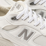 Мужские кроссовки New Balance M991WHI White/Light Grey фото- 6
