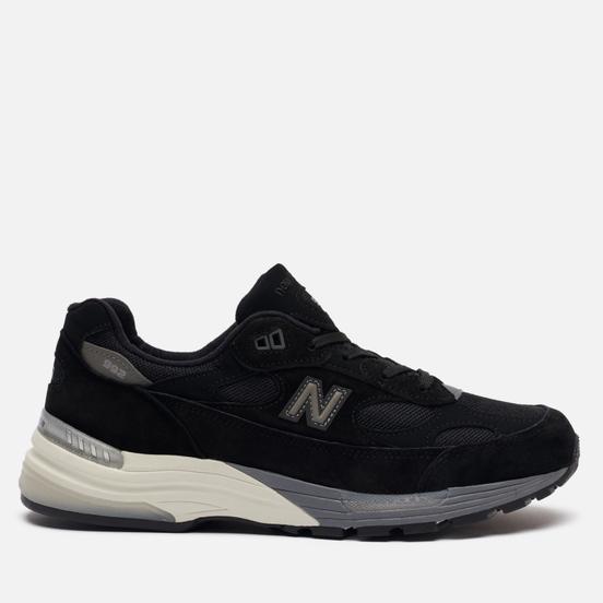 Мужские кроссовки New Balance M992BL Black/Grey/White