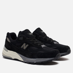 Мужские кроссовки New Balance M992BL Black/Grey/White