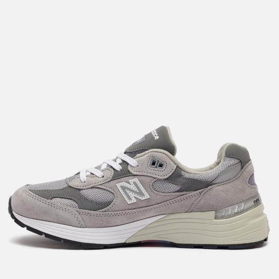 Мужские кроссовки New Balance M992GR Grey/Silver