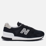 Мужские кроссовки New Balance M995CHB Black/Silver фото- 0
