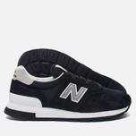Мужские кроссовки New Balance M995CHB Black/Silver фото- 1