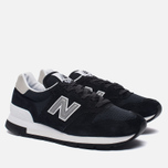 Мужские кроссовки New Balance M995CHB Black/Silver фото- 2