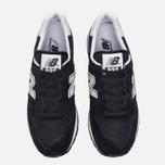 Мужские кроссовки New Balance M995CHB Black/Silver фото- 4