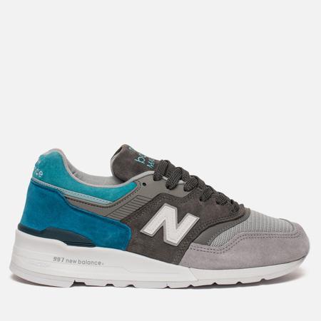 Мужские кроссовки New Balance M997CA Color Spectrum Grey/Turquoise
