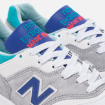Мужские кроссовки New Balance M997CDG Coumarin Pack Grey/Deep Ozone Blue/Vivid Blue фото- 5