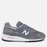 Мужские кроссовки New Balance M997CNR Grey/Blue/Red фото- 0