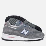 Мужские кроссовки New Balance M997CNR Grey/Blue/Red фото- 2