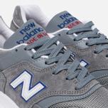 Мужские кроссовки New Balance M997CNR Grey/Blue/Red фото- 5