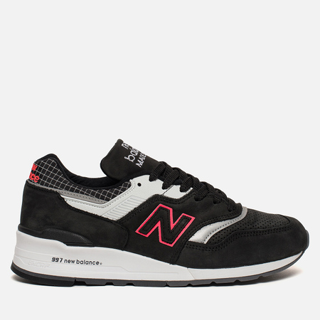 Мужские кроссовки New Balance M997CR Color Spectrum Pack Black/White/Red