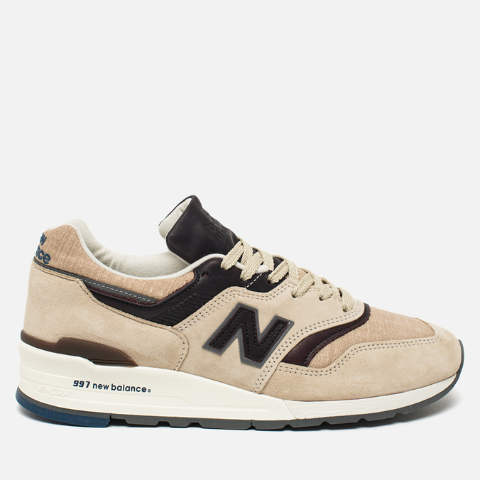 Мужские кроссовки New Balance M997DSAI Explore By Sea Sand/Dark Brown