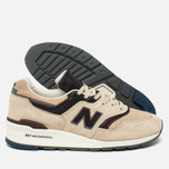 Мужские кроссовки New Balance M997DSAI Explore By Sea Sand/Dark Brown фото- 2