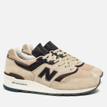 Мужские кроссовки New Balance M997DSAI Explore By Sea Sand/Dark Brown фото- 1
