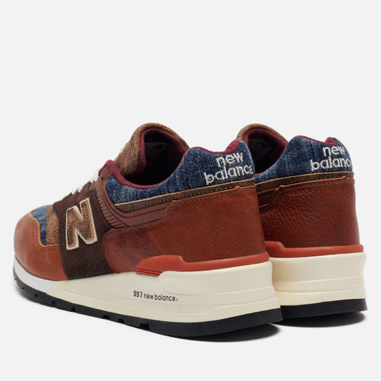 Мужские кроссовки New Balance M997SOC Elevated Basics Brown/Blue/White