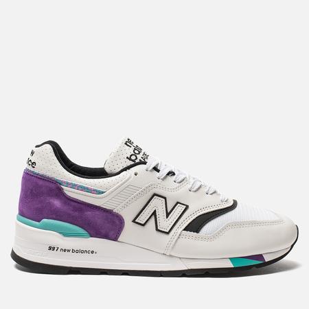 Мужские кроссовки New Balance M997WEA Suede White/Purple