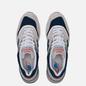 Мужские кроссовки New Balance M997WEB Suede Grey/Navy фото - 1