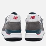 Мужские кроссовки New Balance M998CRA Grey/Turquoise фото- 3