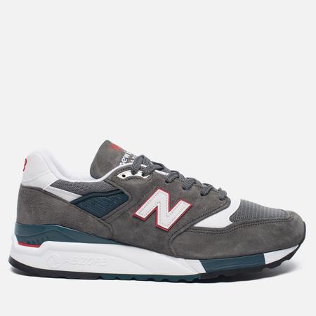 Мужские кроссовки New Balance M998CRA Grey/Turquoise
