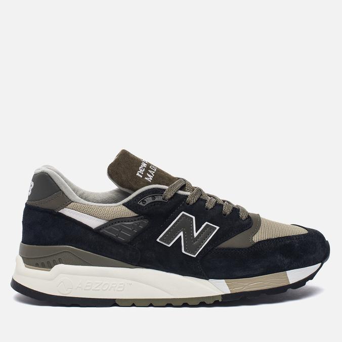 Мужские кроссовки New Balance M998CTR Black/Olive