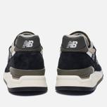 Мужские кроссовки New Balance M998CTR Black/Olive фото- 3