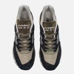 Мужские кроссовки New Balance M998CTR Black/Olive фото- 4
