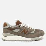 Мужские кроссовки New Balance M998DBOA Explore By Sea Grey/Tan фото- 0