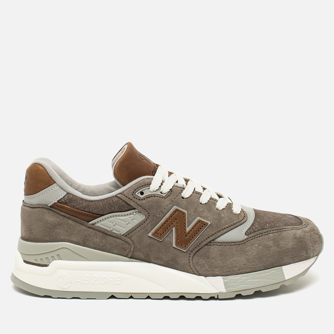 Мужские кроссовки New Balance M998DBOA Explore By Sea Grey/Tan