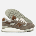 Мужские кроссовки New Balance M998DBOA Explore By Sea Grey/Tan фото- 2