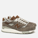 Мужские кроссовки New Balance M998DBOA Explore By Sea Grey/Tan фото- 1